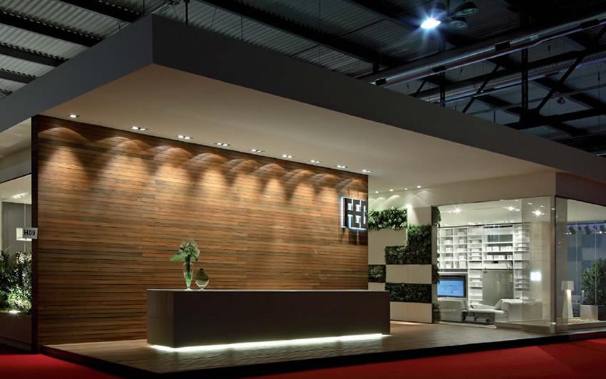 realizzazione stand feg salone del mobile milano lf italy